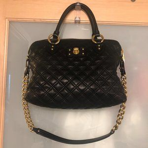 EUC Marc Jacobs Black Quilted Leather Bag